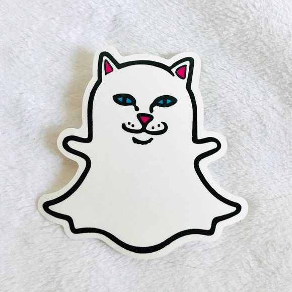 Ripndip Other Rip N Dip Snapchat Kitty Nermal Cat Decal